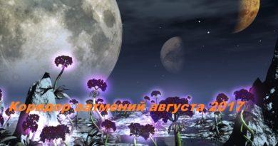 коридор затмений, лунное затмение