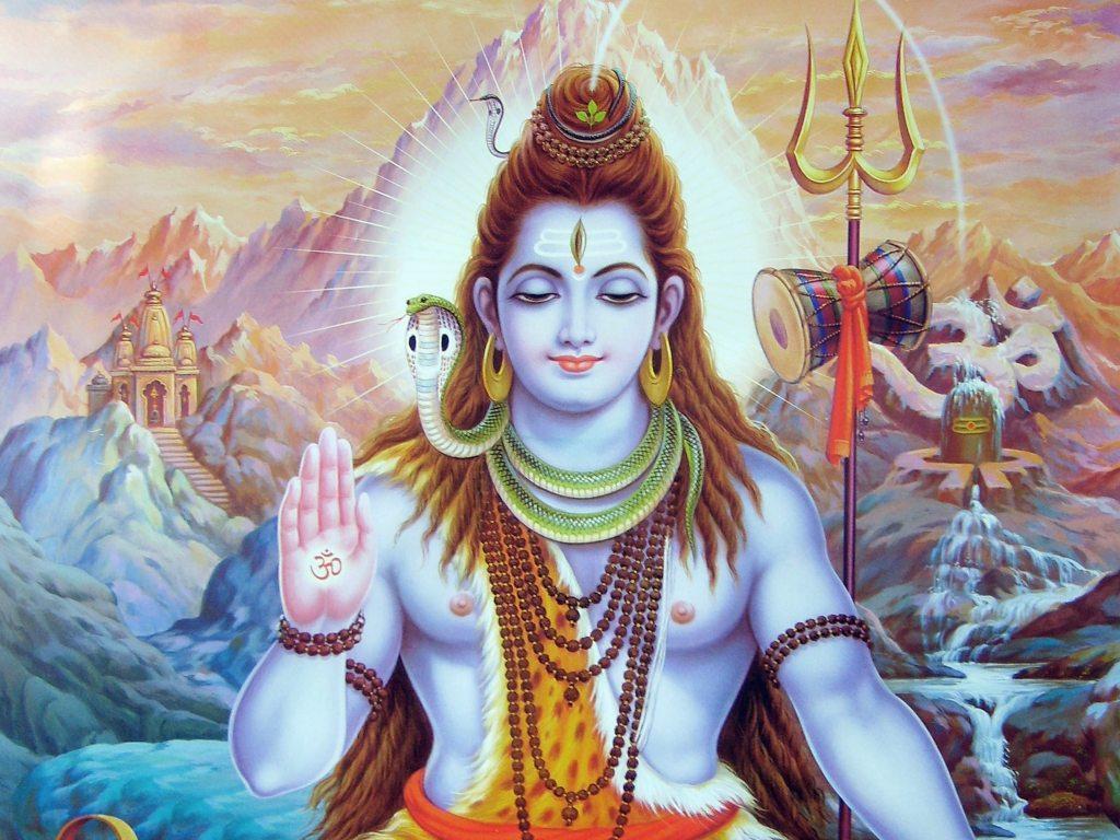 Индуистский бог Шива, бог любви, медитации Шивы