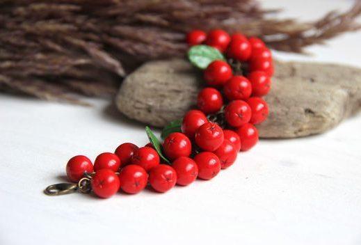 ритуал защиты на день равноденствия, браслет из ягод рябины, рябина для защиты