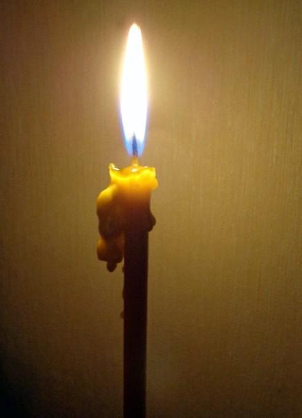 диагностика порчи свечой