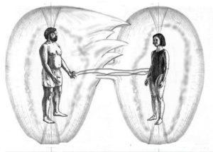 любовня привязка, энергетические жгуты между мужчиной и женщиной