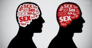 мысли о сексе, страсть, порок, одержимость