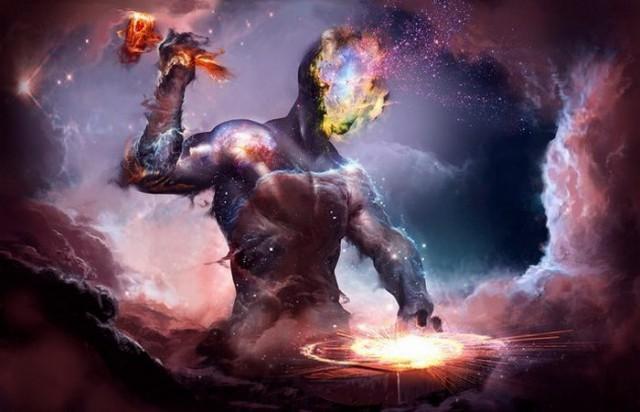 космическое воздействие, сущности из параллельных миров, космические