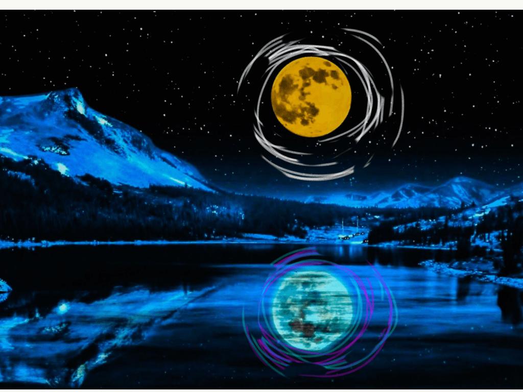 голубая луна, полнолуние голубой луны