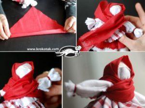 Поэтапная инструкция как сделать куклу масленицу