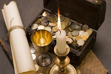 ритуал на деньги пасха